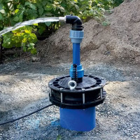 Maintenance of a well for water: rules for the competent operation of a mine