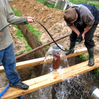 Do-it-yourself flushing of the well after drilling: step-by-step briefing on the work