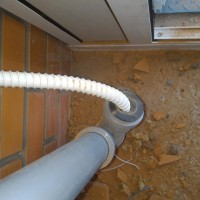 Condensate drainage from the outdoor unit of the air conditioner: organization methods and best technological solutions