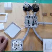 Interrupteur à deux voies: appareil + schéma de câblage + conseils d'installation