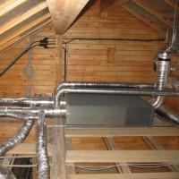 Vai ir iespējams ienest ventilāciju bēniņos privātmājā? Labākās izmitināšanas iespējas