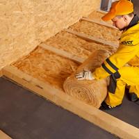 Isolation du sol dans une maison en bois: matériaux pour l'isolation thermique + conseils sur le choix de l'isolation