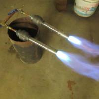 Do-it-yourself Injection Gas Burner: Blacksmithing Manual