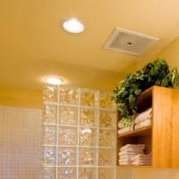 Ventilation dans la salle de bain au plafond: caractéristiques d'agencement + instructions d'installation du ventilateur