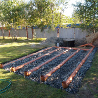 How to arrange a filtering field for a septic tank: typical schemes + design rules