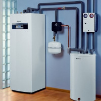 Water-water heat pump: device, principle of operation, rules for arranging heating on its basis