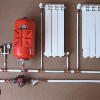 Expansion tank for closed heating: operating principle and device + how to choose and install in the system