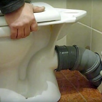 How to connect a toilet to the sewer: an overview of installation technologies for all types of toilets