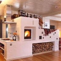 Types of brick ovens for the home: types of units according to purpose and design features