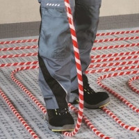 Cross-linked polyethylene for underfloor heating: how to equip a heated floor from cross-linked polyethylene