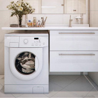 Hanging cabinet with sink: selection tips + analysis of installation technology