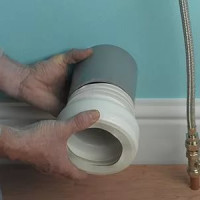 Rubber cuff for a toilet bowl (cam): rules of installation and connection