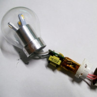 Disposition de la lampe LED: périphérique de pilote simple