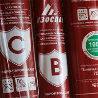 Izospan A, B, C, D: insulation specifications and rules of use