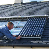 Solar heating of a private house: options and device diagrams