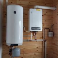 Utformningen av bindningen av den indirekta värmepannan + reglerna för installation och anslutning