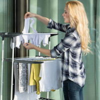 Clothes dryer on the balcony: TOP-15 of the best models + recommendations for selection and installation