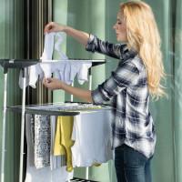 Sèche-linge sur le balcon: TOP-15 des meilleurs modèles + recommandations de sélection et d'installation