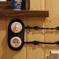Quel câble faire le câblage dans une maison en bois: types de câbles incombustibles et son installation sûre