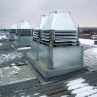Ventilatoru uzstādīšana uz jumta: jumta ventilatoru uzstādīšanas un stiprināšanas iezīmes