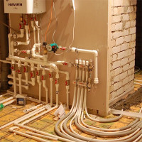 Optimal wiring of heating in a private house: a comparison of all typical schemes