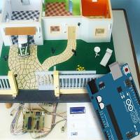 Maison intelligente basée sur des contrôleurs Arduino: conception et organisation d'un espace contrôlé