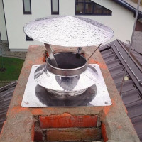 Installing a ventilation fungus on the roof: types and methods of installing a deflector on an exhaust pipe