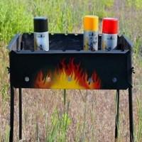 Peintures résistantes à la chaleur pour le métal jusqu'à 1000 degrés: une douzaine de produits phares résistants à la chaleur