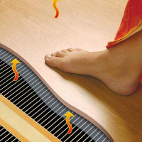 Underfloor heating under the laminate on the wooden floor: which system is better + installation instructions