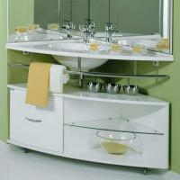 Stūra izlietnes vannas istabā: vispārīgs pārskats + uzstādīšanas instrukcijas