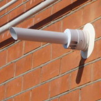 The device, varieties and installation rules of coaxial chimneys