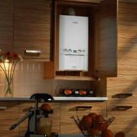 Comment cacher une chaudière à gaz dans la cuisine: les meilleures options de conception et conseils de masquage