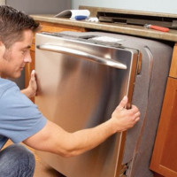 Installing the facade on the dishwasher: tips + installation instructions