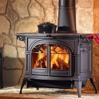 Wood stoves for heating a private house: rating of popular models + benchmarks for the buyer
