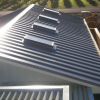 Roof ventilation from a profiled sheet: recommendations for design and installation