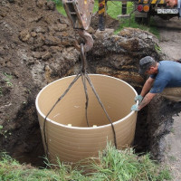 Viewing wells for drainage: types, arrangement and installation features