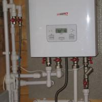Connexion d'une chaudière à gaz à double circuit au système de chauffage: exigences et normes + étapes d'installation