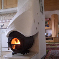 Comment faire du chauffage au poêle dans une maison privée avec des circuits d'air ou d'eau