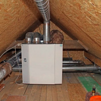 Ventilation in a two-story private house: options for organizing trouble-free air exchange