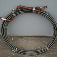 Sewer cleaning cable: types of tools and how to use them correctly