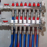 Distribution comb of the heating system: purpose, principle of operation, connection rules