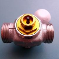 Vanne à trois voies sur le système de chauffage: fonctionnement, règles de sélection, schéma et installation