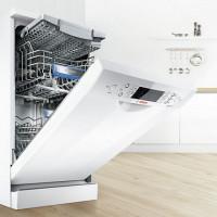 Bosch freestanding dishwashers 45 cm: best models + manufacturer reviews