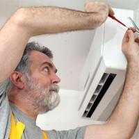 Oro kondicionieriaus variklio prijungimas: lauko ir vidaus įrenginio prijungimo schema ir žingsniai