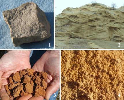 Geological conditions for the construction of the Abyssinian well