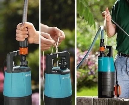 Which pump is better to choose for taking water from a deep well