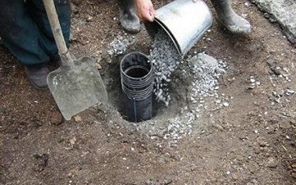 Gravel filter