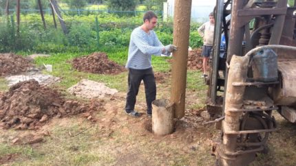Drilling with a chipper