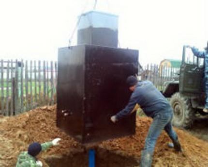 Metal caisson