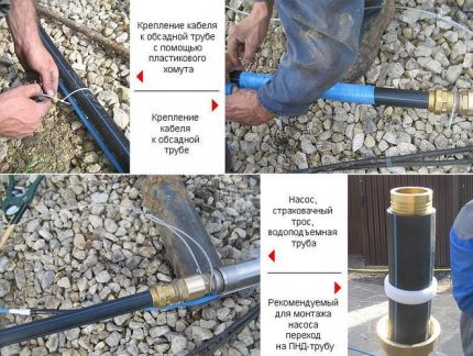 Submersible pump harness